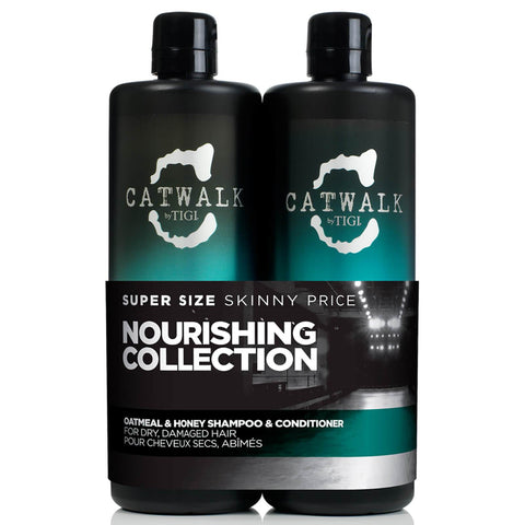 A set of Tigi Catwalk Oatmeal and Honey Tween - 750 ML