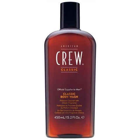 American Crew Classic 3 In 1 Shampoo, Conditioner and Body Wash