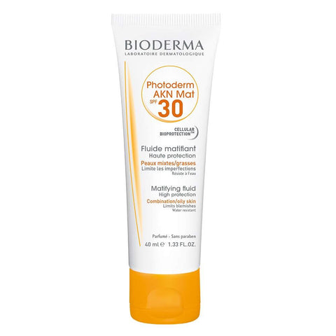 Bioderma Photoderm Akn Mat Spf 30 Matifying Fluid:Skin Care