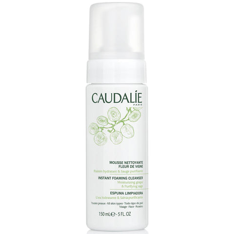Caudalie Instant Foaming Cleanser For All Skin Types:Skin Care