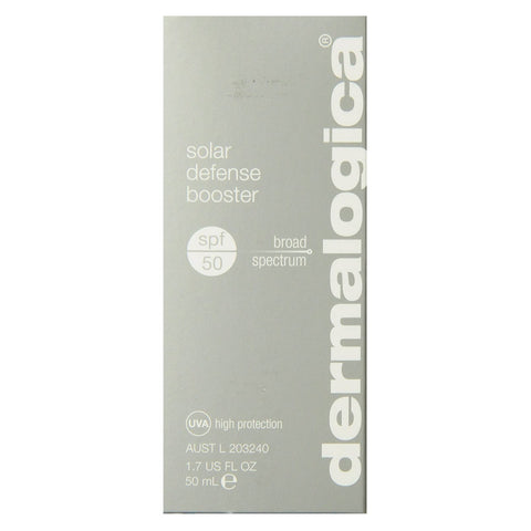 A box of Dermalogica Solar Defense Booster SPF50