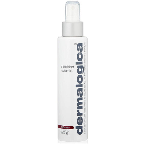 A spray mist bottle of Dermalogica Antioxidant Hydramist | Active Care Store