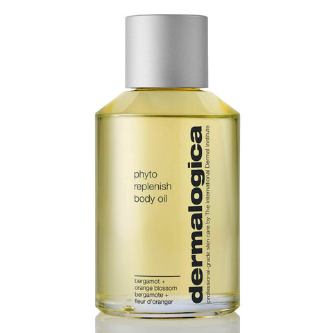 Bottle of Dermalogica Phyto Replenish Body Oil