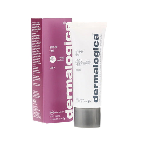 Box of Dermalogica Sheer Tint Dark SPF20