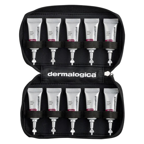10 piece pouch of Dermalogica Rapid Reveal Peel 3ml