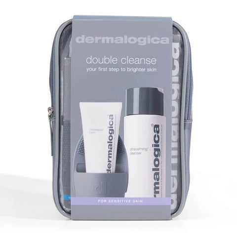 Dermalogica Sensitive Skin Cleanser Double Cleanse Kit with a pouch