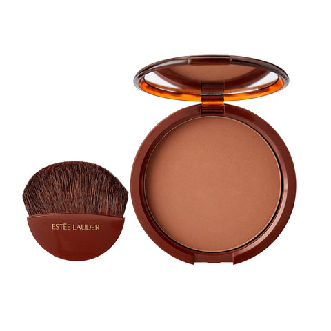 Estee Lauder Bronze Goddess Powder 02 Medium Bronzer with brush