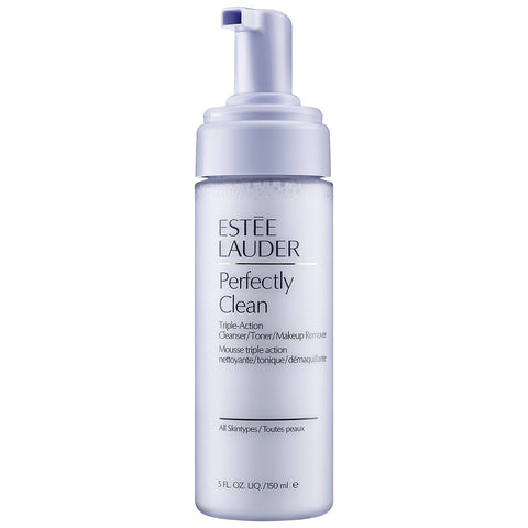 Estee Lauder Perfectly Clean Triple-Action Cleanser/Toner/Make-Up Remover For All Skin Types:Skin Care