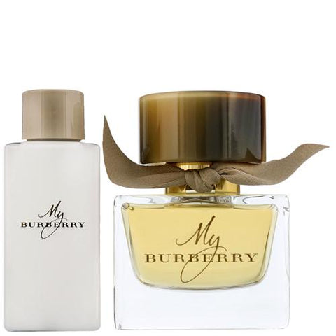 Burberry My Burberry For Women Eau De Parfum Spray 50ml Gift Set