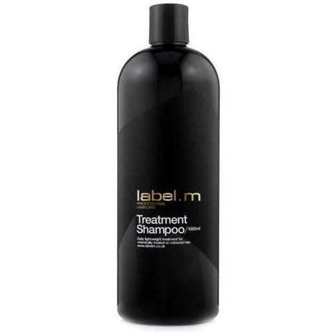 A 1000ml Bottle of Label M Treatment Shampoo
