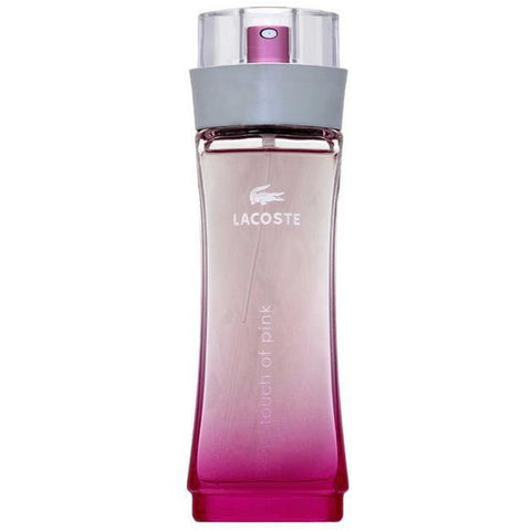A 90 ml bottle of Lacoste Touch Of Pink EDT For Women | Active Care Store
