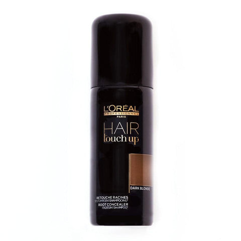 A 75 ml spray can of Loreal Professionnel Hair Touch Up Dark Blonde | Active Care Store