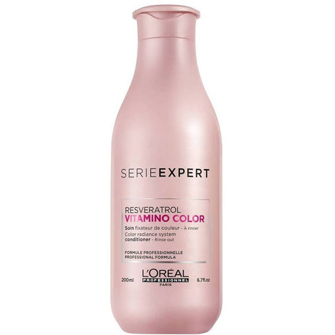 A bottle of Loreal Se Vitamino Color Resveratrol Conditioner | Active Care Store