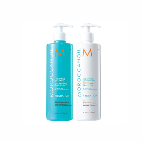 Moroccanoil Hydrating Shampoo And Conditioner Duo