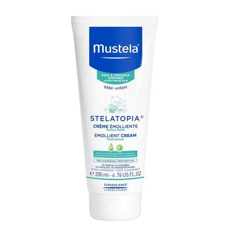Mustela Stelatopia Emollient Cream:Skin Care