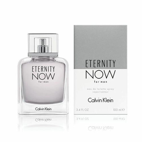 A 100ml bottle of Ck Eternity Now EDT For Men