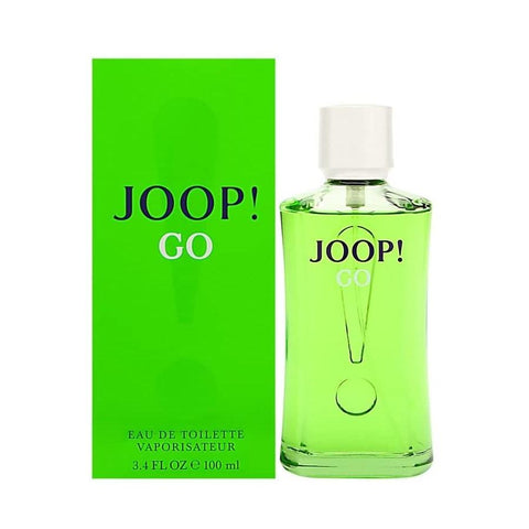 A bottle of Shop Joop Go Eau De Toilette For Men | Active Care Store