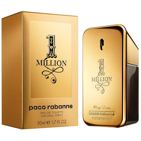 Paco Rabanne One Million Eau De Toilette For Men