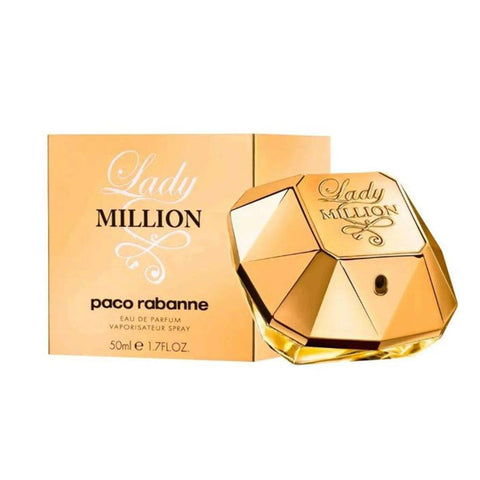 50 ml Bottle of Paco Rabanne Lady Million Eau De Parfum For Women | Active Care Store