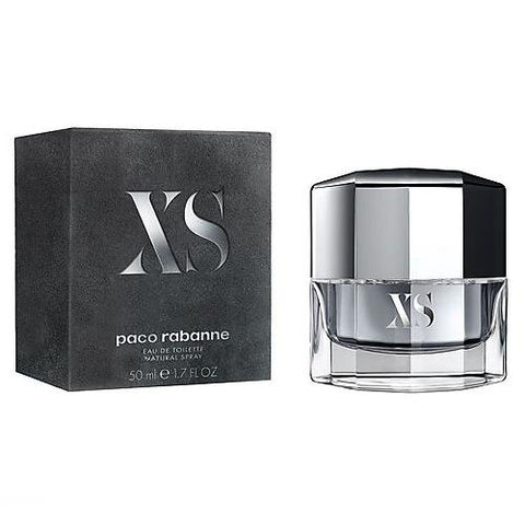 A 50ml Bottle and Box of Paco Rabanne XS Eau De Toilette For Men