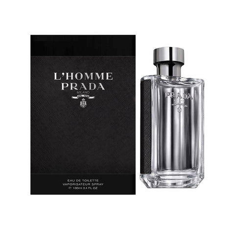 A 100 ml bottle of Buy Prada L'Homme EDT For Men | Active Care Store