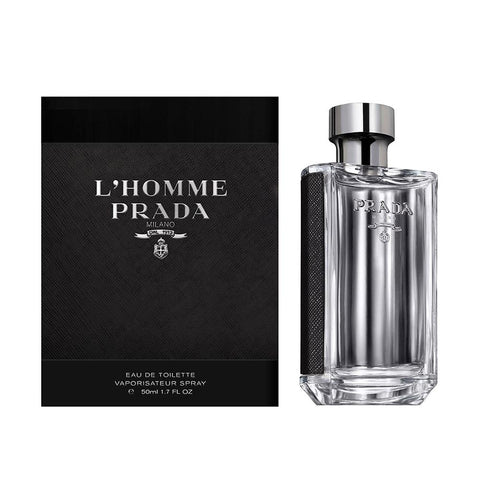 A 50 ml bottle of Buy Prada L'Homme EDT For Men | Active Care Store