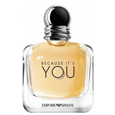 A 100 ml bottle of Armani Emporio Because Its You EDP For Women | Active Care Store