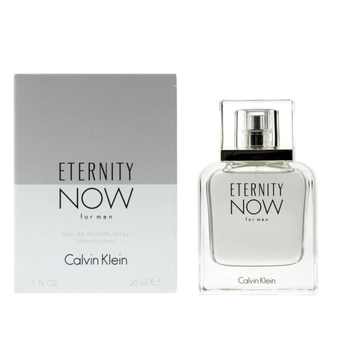 A 30ml bottle of Ck Eternity Now EDT For Men