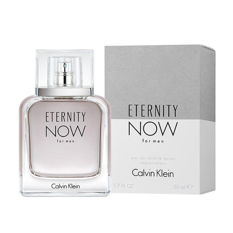 A 50ml bottle of Ck Eternity Now EDT For Men