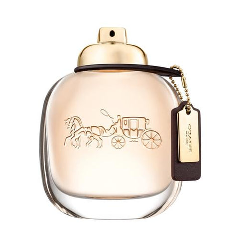 A bottle of Coach New York Eau De Parfum For Women | Active Care Store