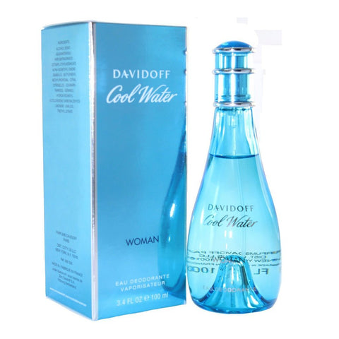 Davidoff Cool Water Eau Deodorante Natural For Women