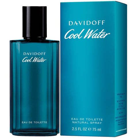 A 75ml bottle of Davidoff Cool Water Eau De Toilette For Men | Active Care Store