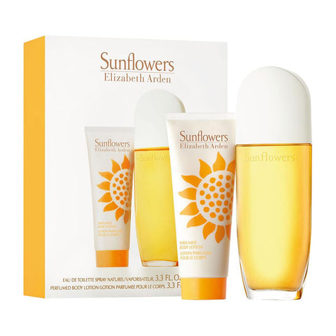 Elizabeth Arden Sunflowers Perfume Edt Women and Body Lotion Gift Set