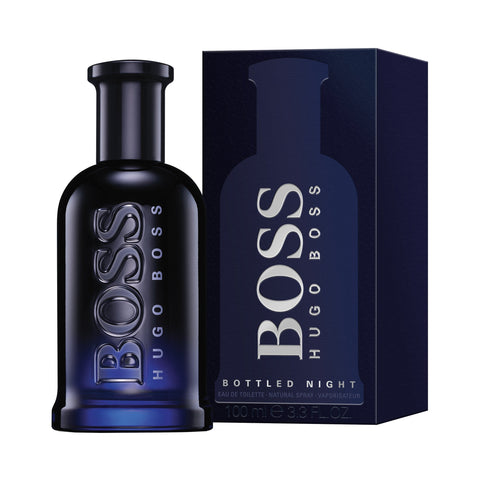 Bottle and Box of Hugo Boss Bottled Night Eau De Toilette For Men | Active Care Store