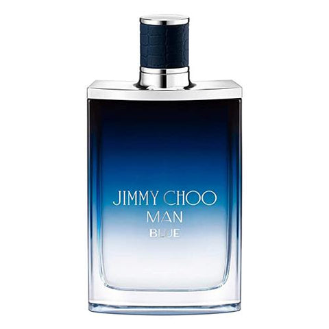 A bottle of Jimmy Choo Man Blue EDT Spray | Cologne | Active Care Store
