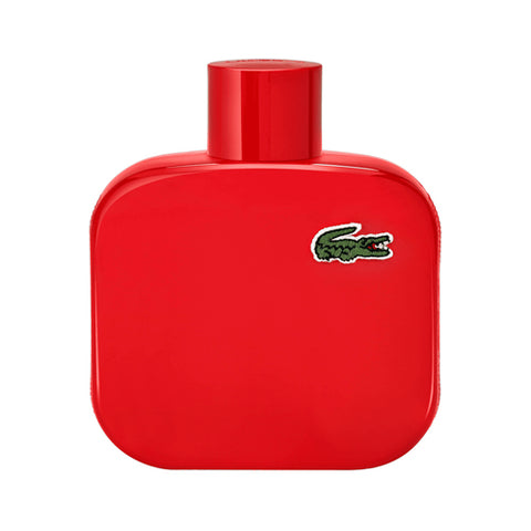 A 100 ml bottle of Lacoste L.12.12 Rouge EDT Spray For Men | Active Care Store