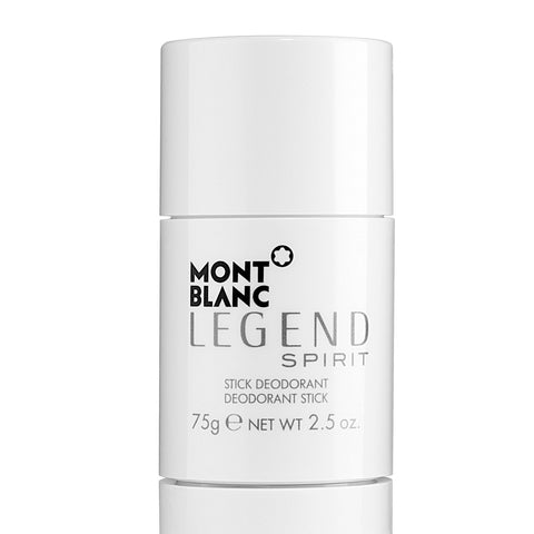 A 75 gram deodorant stick by Mont Blanc Legend Spirit | Active Care Store