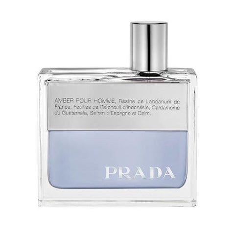 A bottle of Shop Prada Amber Pour Homme EDT for Men | Active Care Store
