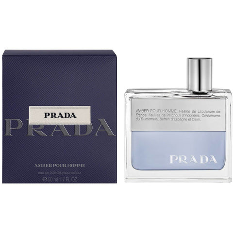Prada Amber Pour Homme Edt for Men:Fragrance