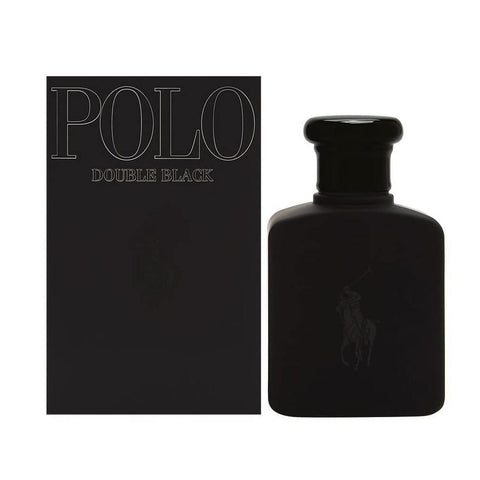Ralph Lauren Polo Double Black Edt For Men