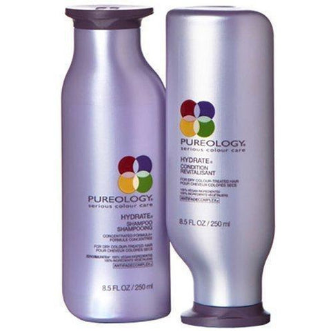 Pureology Hydrate Shampoo 250 ML And Conditioner 250 ML:Hair Care