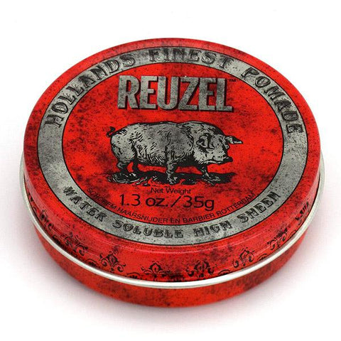 Reuzel Red Water Soluble High Sheen Pomade