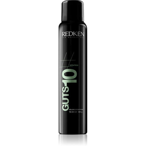 A can of Redken Volume Guts 10 Spray Foam | Active Care Store