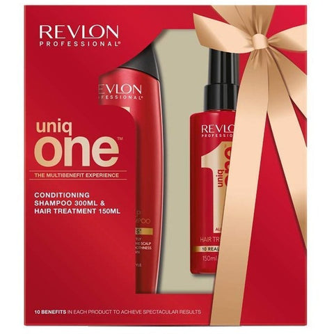 Revlon Uniq One Shampoo 300 ML & Treatment 150 Ml Gift Set