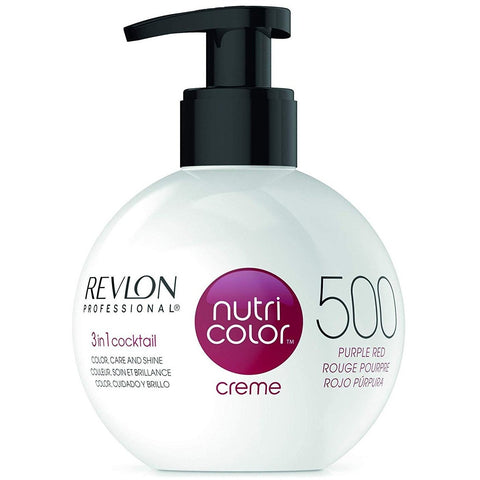 Revlon Nutri Colour Creme 500 Purple Red