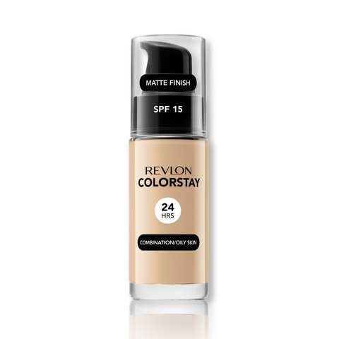 Revlon Colorstay Makeup Foundation for Combination & Oily - Spf 15 - Sand Beige 180:Skin Care