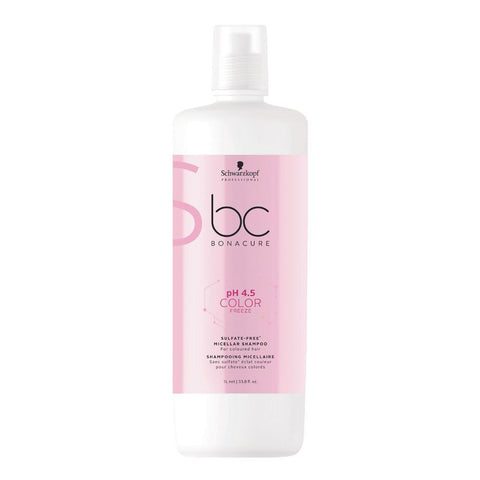 Schwarzkopf Bonacure Ph 4.5 Color Freeze Sulfate Free Micellar Shampoo
