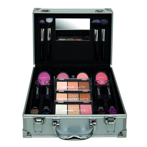 Technic Master Beauty Case With Cosmetics Make Up Sets