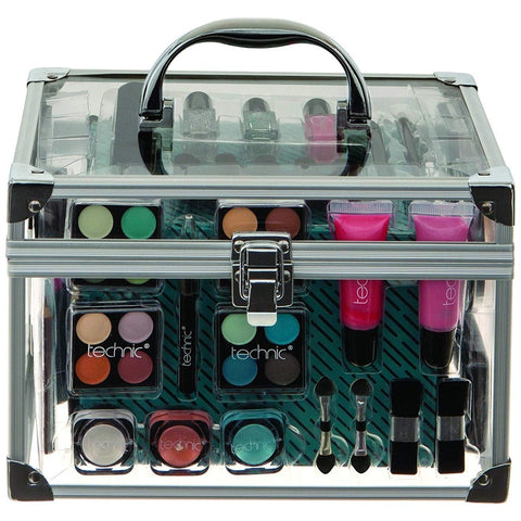 Technic Essentials Clear Carry Case Makeup Set