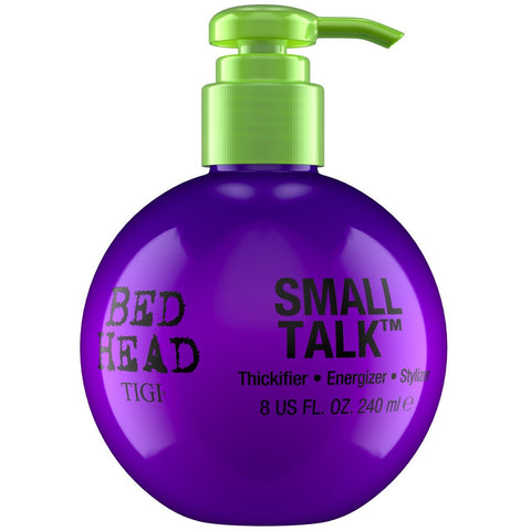 A bottle of Tigi Bed Head Mini Small Talk 240 ml